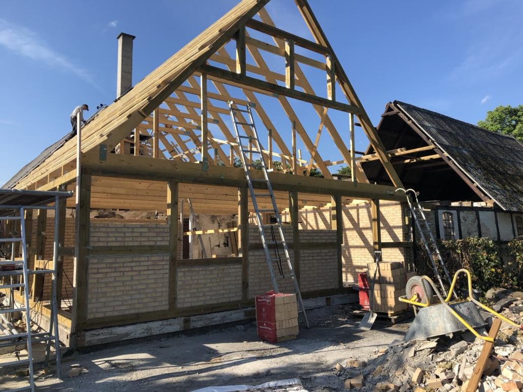 tag konstruktion - Tømrer & Snedker Allan Christiansen ApS - Nakskov