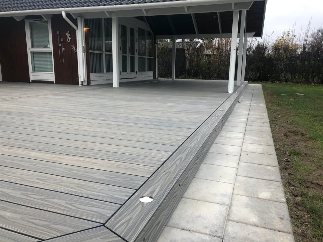 Komposit Terasse - Tømrer & Snedker Allan Christiansen ApS