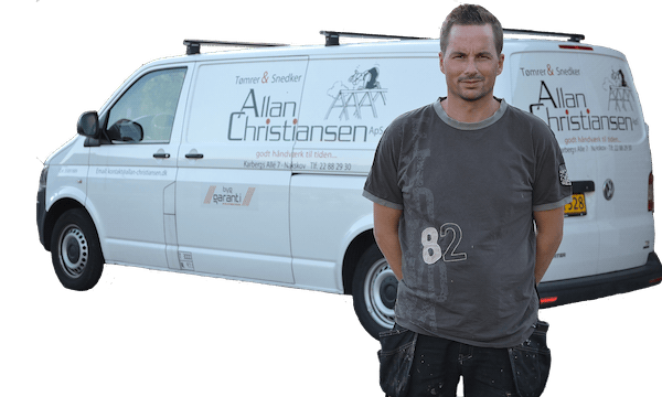 Tømrer & Snedker Allan Christiansen Nakskov - Bil